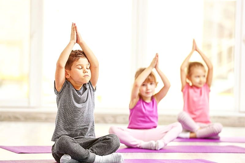 yoga-children